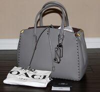 💚 COACH Cooper Carryall Satchel Shoulder Bag Purse Border Rivets Handbag $650