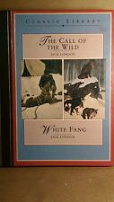 """White Fang"" and ""The Call of the Wild"" by Jack London (1996, Hardcover) Book"
