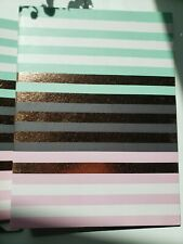 New Green Roon Mini Binder colored strips 3-Ring