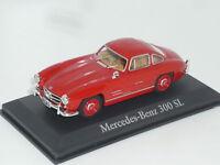 New 1:43 Schuco Mercedes 300SL Flugeltur Gullwing W198 Red Rosso Rot 1955 SL300