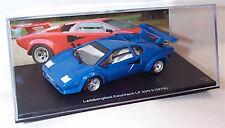 Lamborghini Countach LP 400 S 1978 in Blue 1-43 scale  new in case