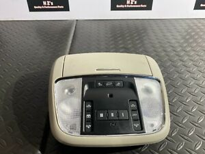 JEEP GRAND CHEROKEE SRT 2012-2019 OEM FRONT DOME LIGHT SUNROOF SWITCH PANEL 71K