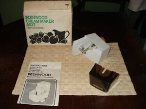 KENWOOD CHEF - Cream Maker A927 - (Fits A901 & all KM models) Ex condition 🍨🍰