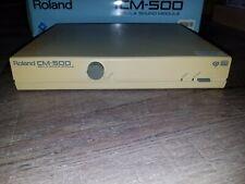 RARE Roland CM500 LA/GS MIDI Sound Module(combines MT32/SC55+) with original box