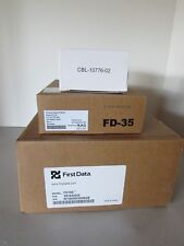 New in Box First Data Fd100Ti Credit Card Terminal w/ Fd-35 PinPad Lot Power