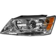 Headlight Headlamp Assembly w/Bulb Left Driver Side For 2009-2010 Hyundai Sonata