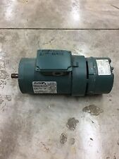 USED RELIANCE ELECTRIC 1.5HP 1730 RPM MOTOR P14H1982N WITH STEARNS 105602100BQF