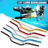 "Aluminum 7/8"" 22mm Drag Handlebars Bars For Off Road Motorcycle Motorbike Bike"