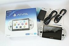 PlayStation PS Vita Wi-Fi Console PCH-2000ZA25 Silver Japan region free F/S