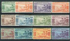 Nouvelles Hebrides KGVI 1938 Gold currency set of 12 SG.F53/64 MLH/MNH