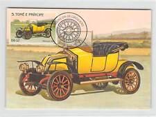 S. TOME MK Voiture Oldtimer RENAULT 1912 VOITURE CARS CARTE MAXIMUM CARD MC cm m250
