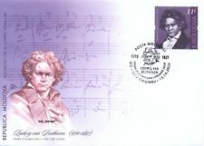 Moldova 2020  Ludwing van Beethoven Personalities who changed the history FDC