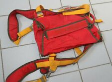 Pilot emergency parachute container + ripcord, pilot chute and toggles
