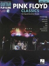 Pink Floyd Classics Guitar Play-Along Sheet Music Book with Audio Mother Hey You