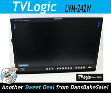 "TVLogic LVM-242W 24"" Full HD Multi-Format Broadcast Monitor"