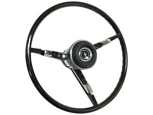 1967 Ford Mustang Reproduction Black Steering Wheel Kit