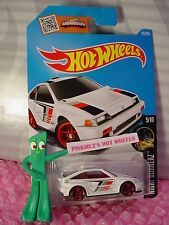 2016 i Hot Wheels 1985 HONDA CR-X #85✰White;red pr5✰Night Burnerz✰Int'l✰Case N/P