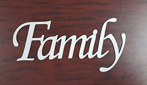 Family Metal Sign UNFINISHED- Metal Wall Art Home Decor Laser Cut Aluminum