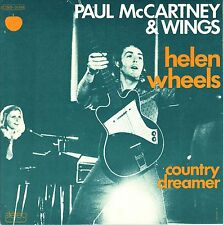 """7"""" Paul McCartney (Beatles) – Helen Wheels // French 1973"""