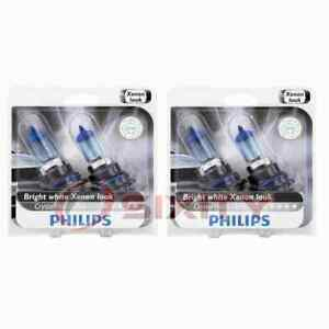 2 pc Philips High Low Beam Headlight Bulbs for Asuna GT SE Sunrunner dx