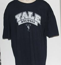 Yale Bulldogs Colosseum Athletics Men's Distressed T Shirt Size XL NWT