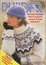Vintage Knitting Patterns | Phildar Winter Fashion No. 78 | 1980s