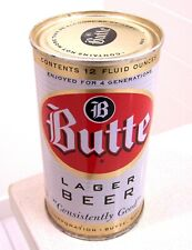 New listing *Gorgeous! c.1950s Butte Lager indoor flat top beer can from Mt, Bo vanity lid