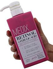 Medix 5.5 Retinol + Ferulic Acid Anti Sagging Treatment Cream 15 Fl Oz (444mL)