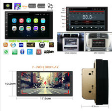 """7"""" 2Din Android 8.1 Car Stereo MP5 GPS North America Map Free Wifi Mirror Link"""