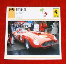 1956 Ferrari 410 Sport Competizione - Edito-Service, SA collector card
