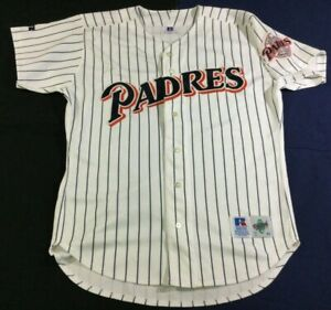 Vintage San Diego Padres Baseball Russell Diamond Collection Jersey Size44