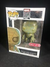 Funko POP! Marvel 80 Years Patina Spider-Man #496 TARGET EXCLUSIVE