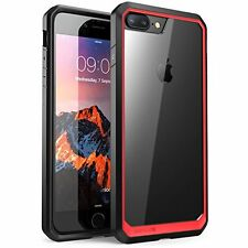 Protective Case Cover For Apple iPhone 7 Plus Slim Rugged Hybrid Accessories Red