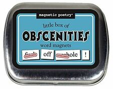 Magnetic Poetry - Little Box of Obscenities Kit - Words for Refrigerator