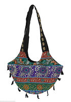 TRADITIONAL HANDMADE HAND BAG INDIAN WOMEN SHOULDER BAG EMBROIDERED BANJARA NEW