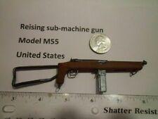 LE2    1/6  WWII Homemade Reising sub-machine gun open stock M55 United States
