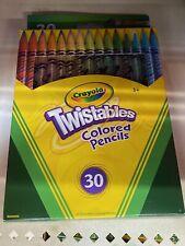 Crayola Twistables Colored Pencils 30-Color Set - 30-Count