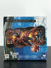 Hasbro Spiderman 3 Foam Fit 98 Piece Wall Puzzle 51016