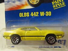 Hot Wheels Olds 442 W-30 #267 from 1991!! Yellow