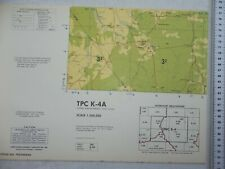 Tactical Pilotage Chart TPC K-4A Cent African Rep / Chad / Sudan Large Scale Map