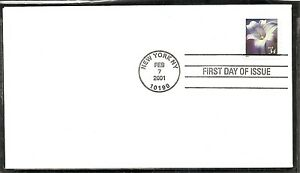 US SC # 3487 Flowers  FDC. Ready For Cachet.