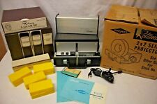 SAWYER Rotomatic Slide Projector Zoom Lens Auto Focus + 5 ROTO-TRAY Slide Trays