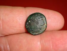 More details for ancient bronze coin - celtic ? greek ? unresearched metal detecting find (254 )