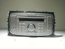FORD MONDEO MK4 GALAXY 6000CD SINGLE CD / GGDS RADIO HEAD UNIT 8S7T-18C815-AC