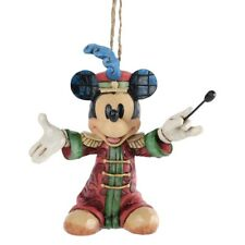 Jim Shore Disney Traditions *Band Concert* Mickey Maus Ornament, NEU &OVP