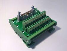 IDC-26 Male Header Breakout Board Screw Terminal Adaptor DIN rail mounting