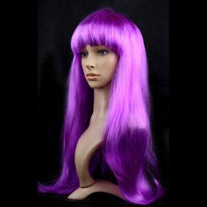 New Purple Synthetic long wig, costume,cosplay,erotic,