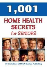 1,001 Home Health Remedies for Seniors, Fc & A Publishing Staff, 1890957453, Boo