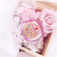Sailor Moon Compact Mirror Moon Prism Power Makeup Anime Cosplay Prop Case