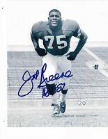 Joe Greene Pittsburgh Steelers Autographed North Texas 8X10 Photo